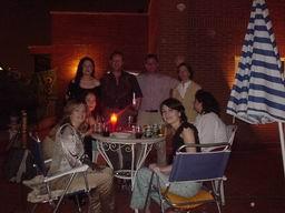 impresión de las primeras fiestas que organicé en mi casa con el gran ático
