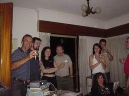 impresión de las primeras fiestas